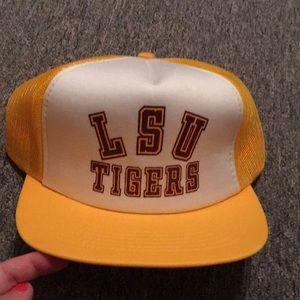 Other - Vintage LSU Tigers trucker/SnapBack hat